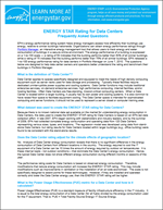 thumbnail of Frequently Asked Questions About Certifying Your Data Center document