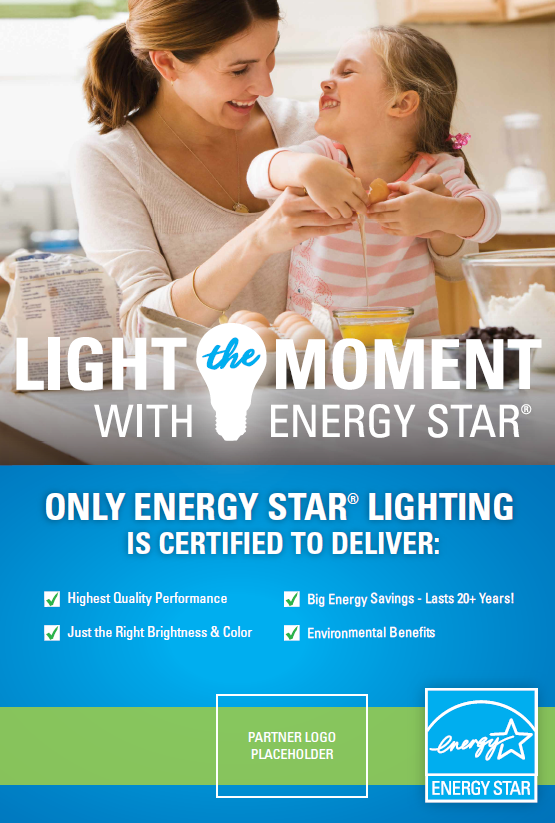 Light the Moment LED Fixture Posters – Co-brandable