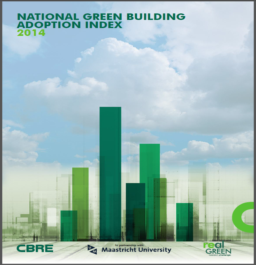 Cover of National Green Building Adoption Index - 2014