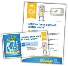 "Download the ""Spotting Energy Waste: Heating/Cooling"" activity kit here."