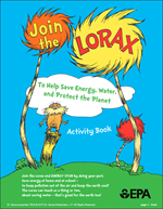 thumbnail of the Lorax Activity Book cover