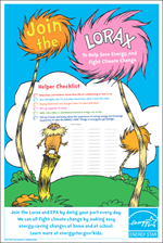 thumbnail of the Lorax Helper Checklist Poster