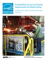 Cover of metal casting energy guide