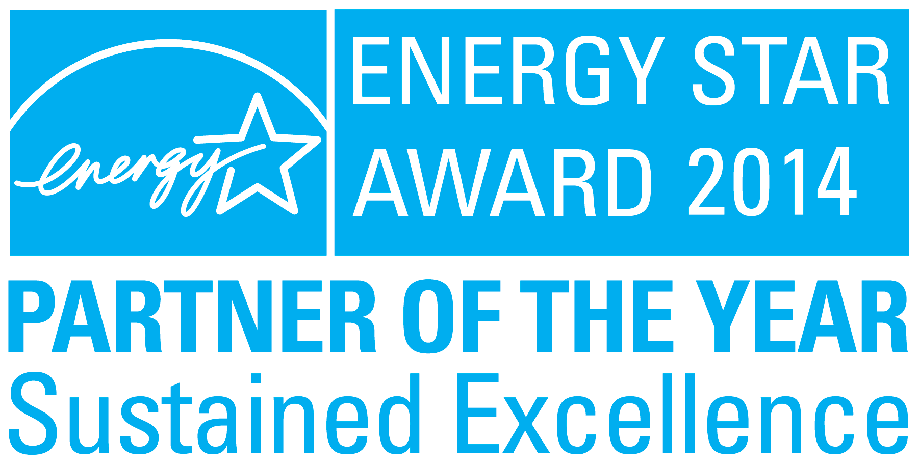 ENERGY STAR 2014 POY Sustained Excellence award logo