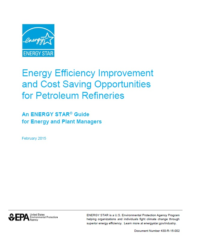 Picture of the cover of the petroleum energy guide