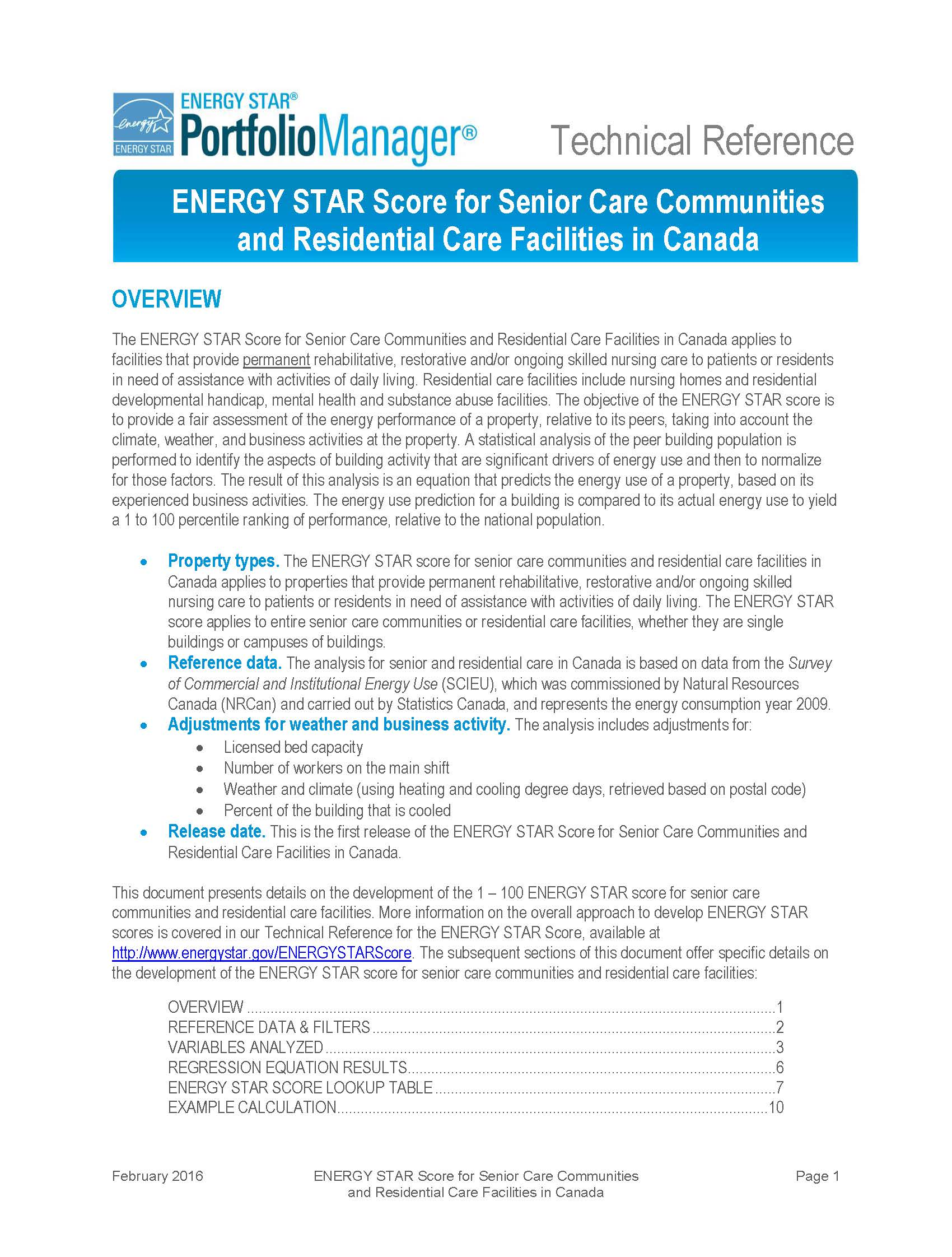 ENERGY STAR Senior Care Technical Reference thumbnail