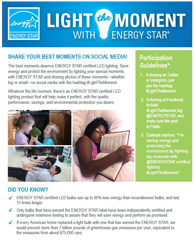 Light the Moment Social Media Activation Flyer 2020 – Generic thumbnail