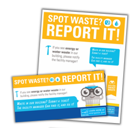 Report energy waste