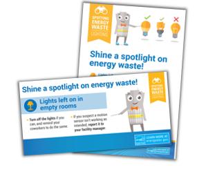 Spotting Energy Waste: Lighting activity kit