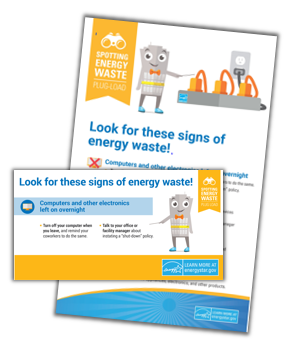 Spotting Energy Waste: Heating/Cooling activity kit