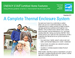 Certified New Homes - Thermal Enclosure Factsheet