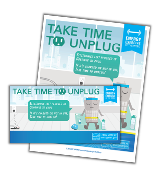 Unplug unused electronics activity kit thumbnail