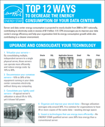 thumbnail of Top 12 Ways to Decrease the Energy Consumption of your Data Center