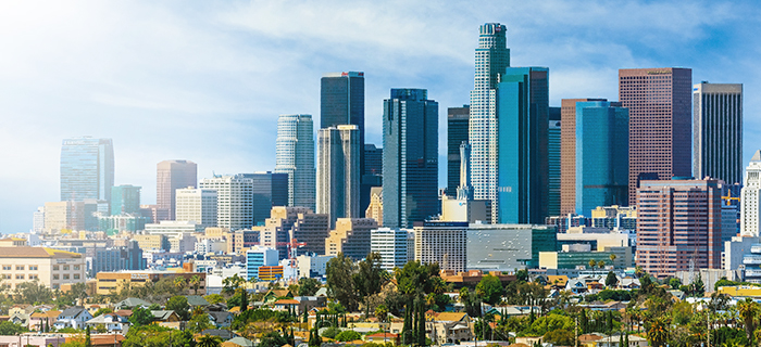 TopCities 2020 LA skyline