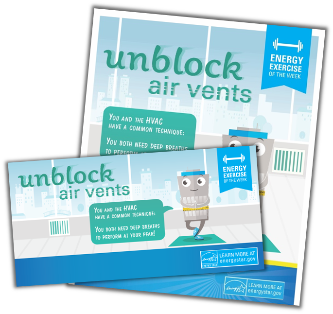 Unblock Air Vents activity kit
