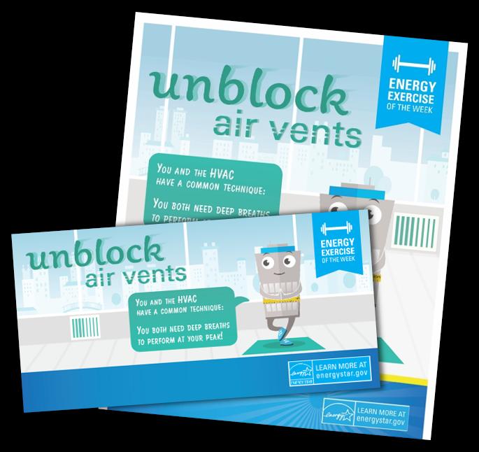 Unblock Air Vents activity kit