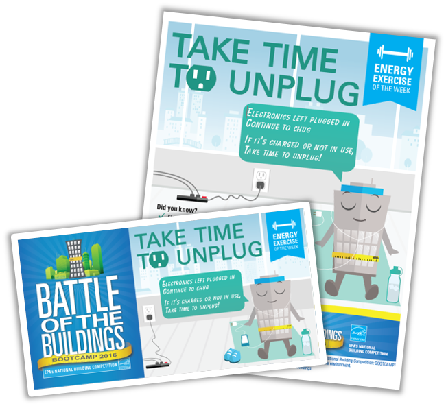 Unplug unused electronics