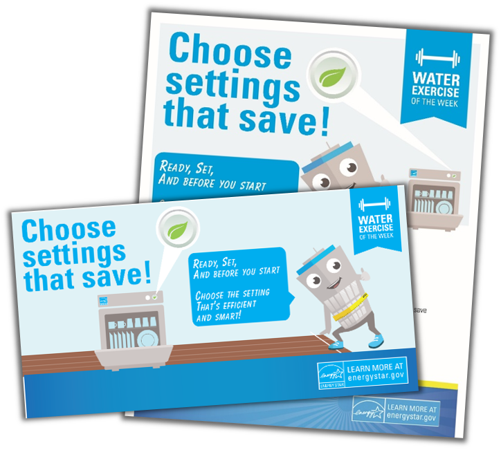 Choose Water Savings Settings