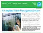 Certified New Homes - Complete Water Management System Fact Sheet