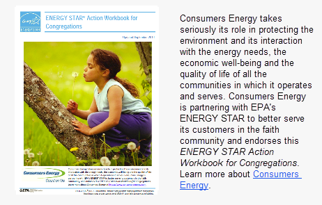 Consumers Energy for Congregations