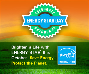 Celebrate ENERGY STAR Day October 24
