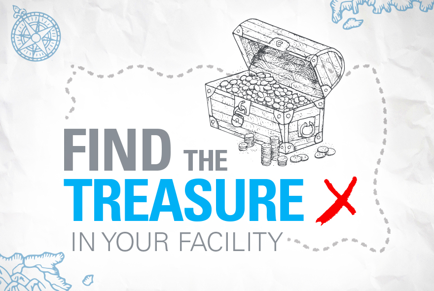 Find the Treasure in your facility