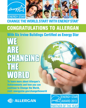 Allergan ENERGY STAR Poster
