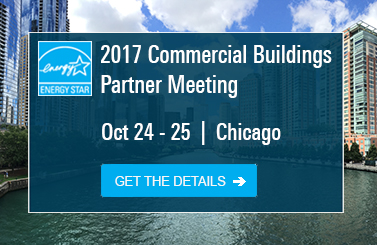2017 Commerical Buildings Partner Meeting, Oct 24-25, Chicago, Get the details