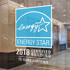 2018 ENERGY STAR Certified Buildings 15 Years Certified Decal
