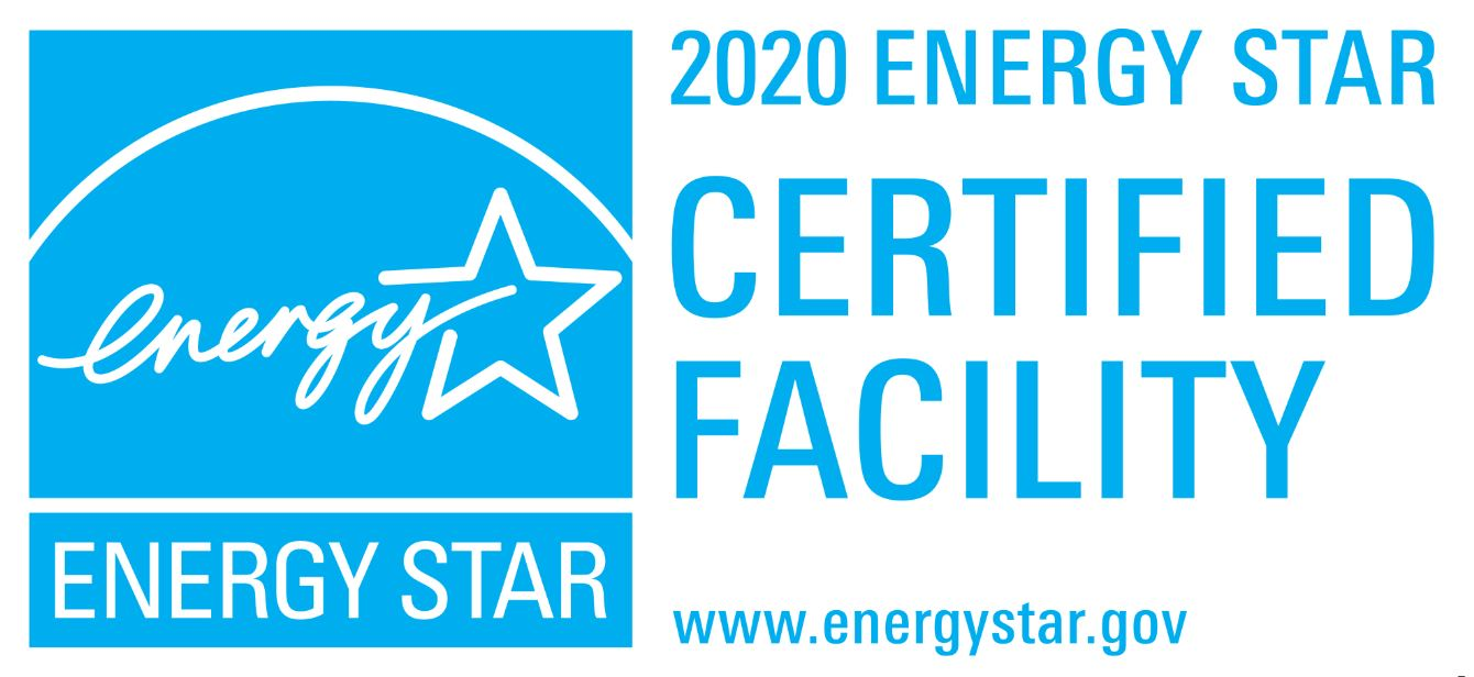 2020 ENERGY STAR Certified Plant Logo