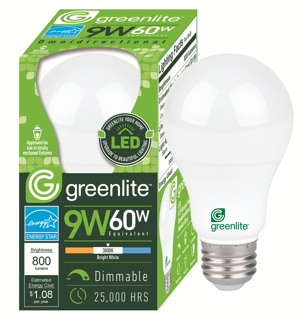 Greenlite light bulb