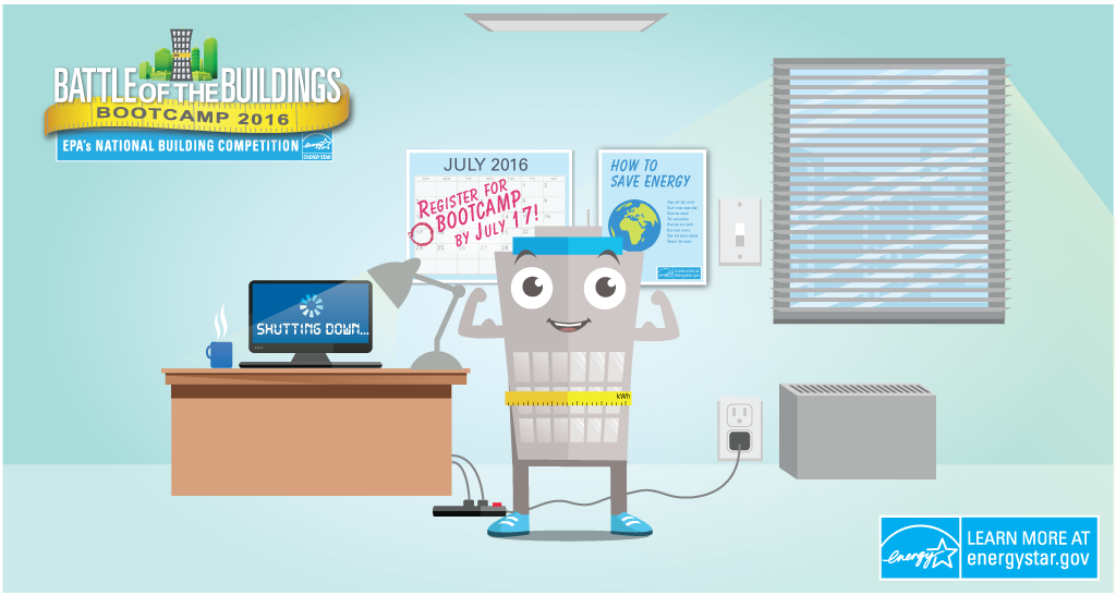 Can You Spot All the Office Energy-Saving Tips? |