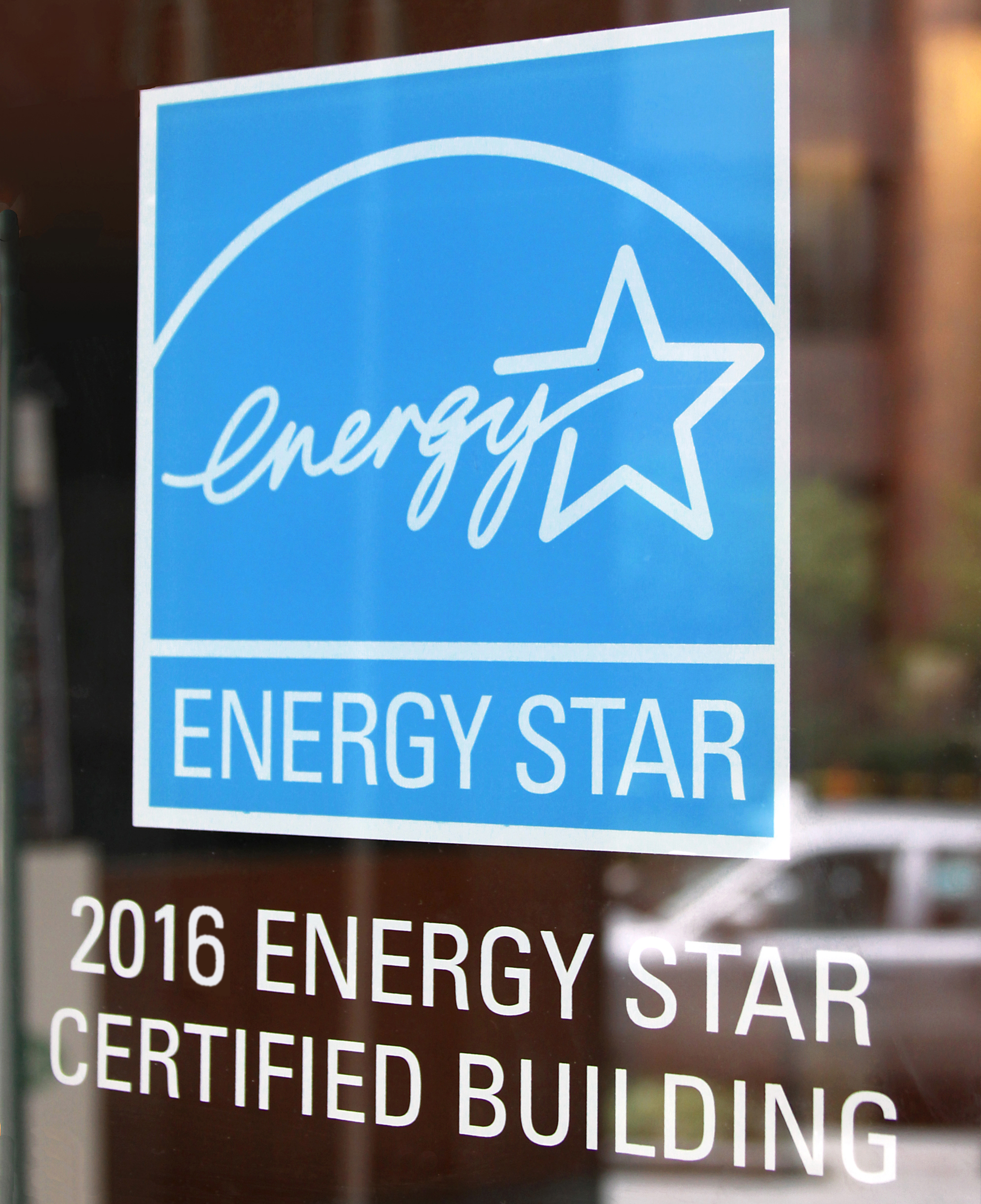 ENERGY STAR 2016 building decal
