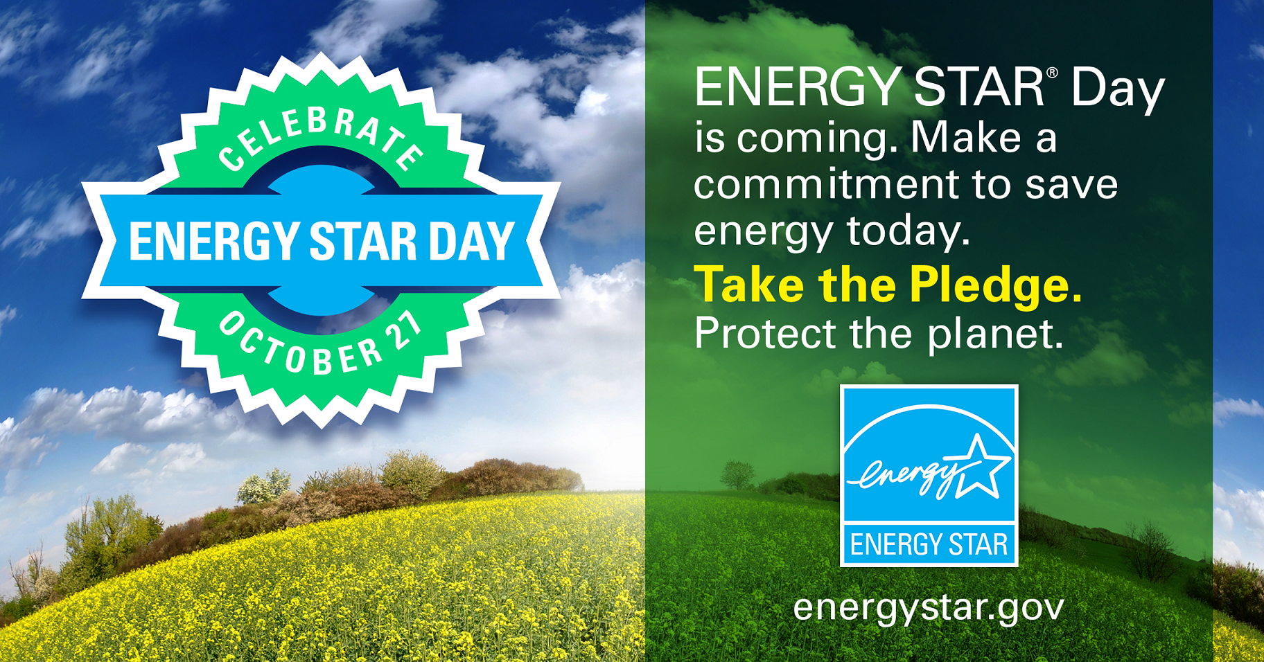 Celebrate ENERGY STAR Day promotional graphic