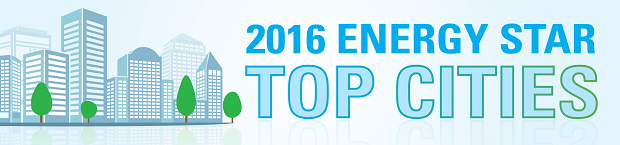 2016 ENERGY STAR Top Cities - banner