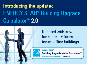Introducing the updated ENERGY STAR Building Upgrade Calculator 2.0. Updated with functionality for multitenant office buildings