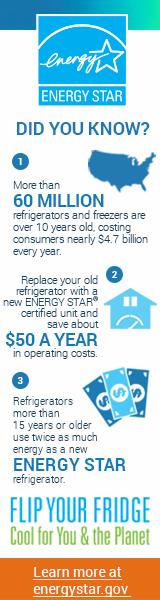 ENERGY STAR Refrigerator facts