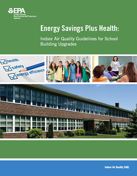 Cover of Energy Savings Plus Health report