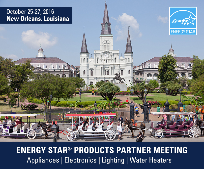 2016 ENERGY STAR Products Partner Meeting Graphic