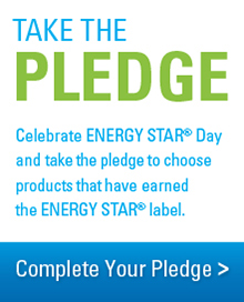 Take the Pledge: Celebrate ENERGY STAR Day