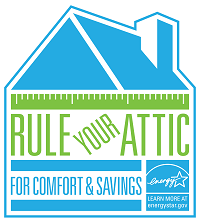 Rule Your Attic for comfort and savings