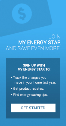 Join My ENERGY STAR and save even more!