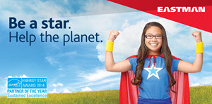 Eastman Be a Star - Help the Planet Banner