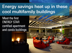 First Multifamily certified buildings
