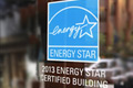 ENERGY STAR label on a building