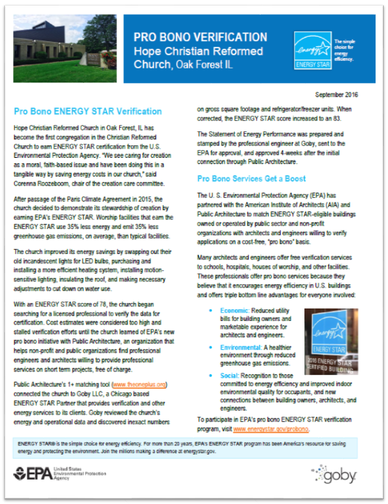 Cost Free Verification Of Energy Star Applications Energy Star