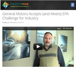 Image of General Motors video.