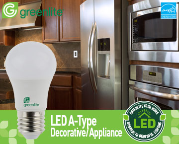 Greenlite LED A-Type ENERGY STAR Certified LED Bulb & LED Lighting Made Easy | Products | ENERGY STAR