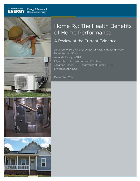Home RX: The Health Benefits of Home Performance Cover