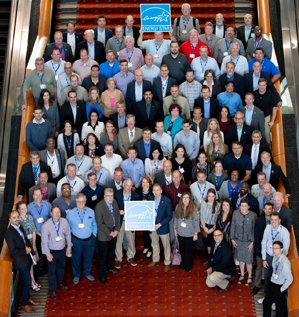 Picture of people at Energy Star meeting